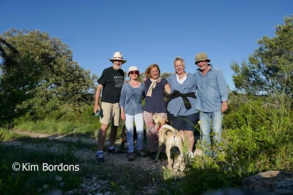 l to r: Bob, Virginia, Gloria, me and Kim. Thanks Kim for taking the photo!
