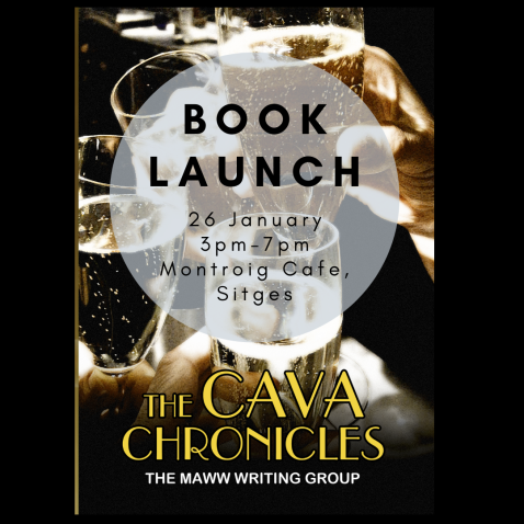 Book Launch - Black background